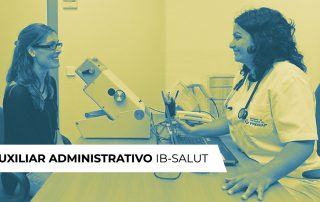AUXILIAR ADMINISTRATIVO IBSALUT